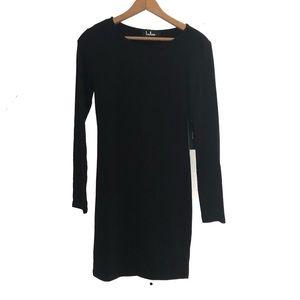 Lulus Long Sleeve Black Dress
